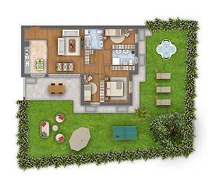 Margherita quadrilocale appartamento 2