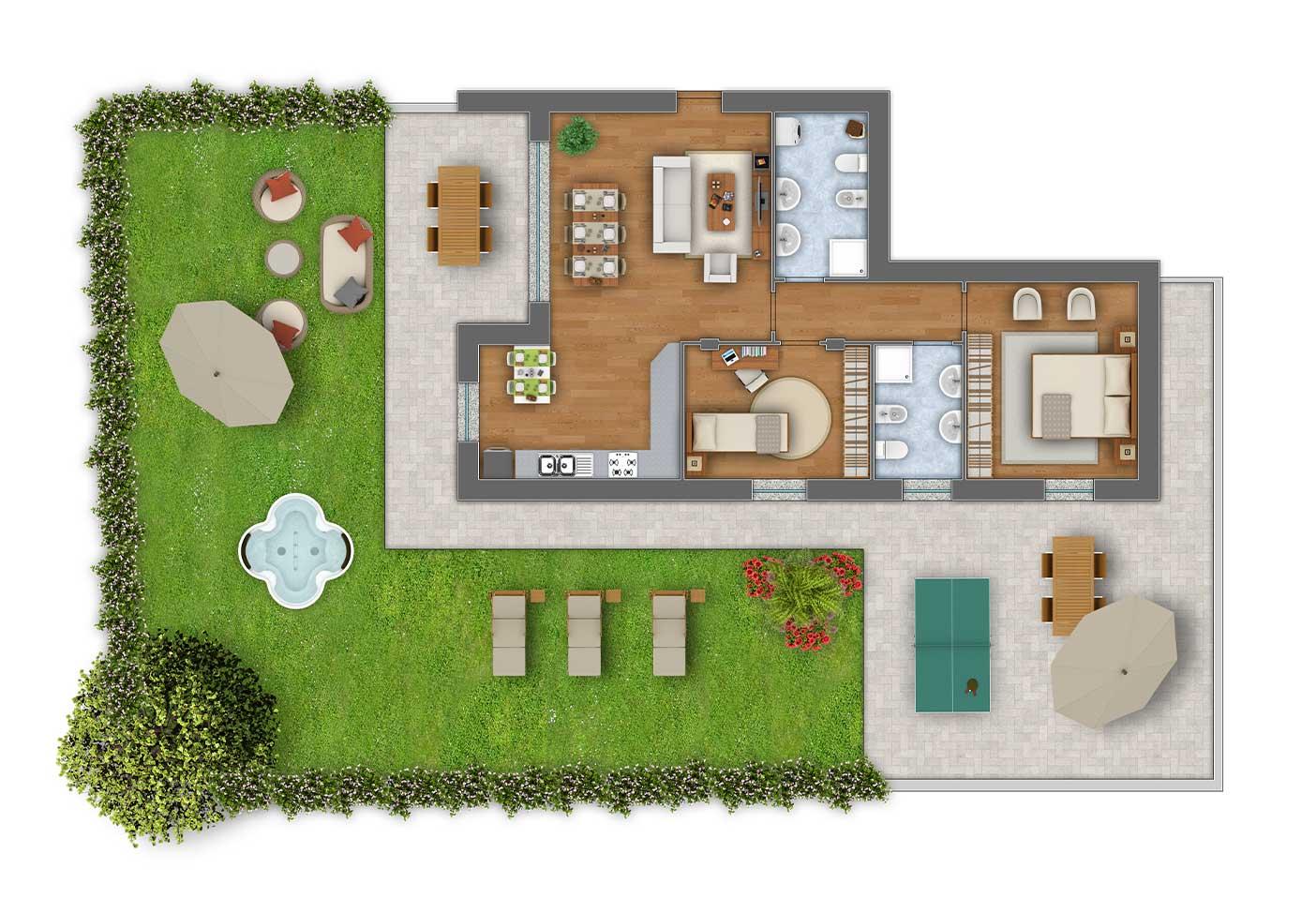 Girasoli 2 trilocale appartamento 1