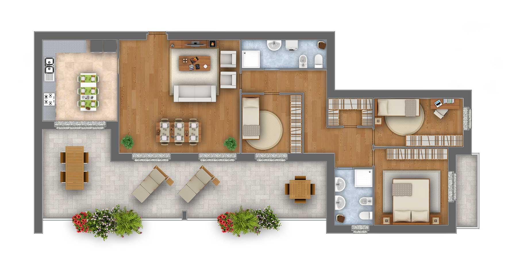 Margherita Attico appartamento 9