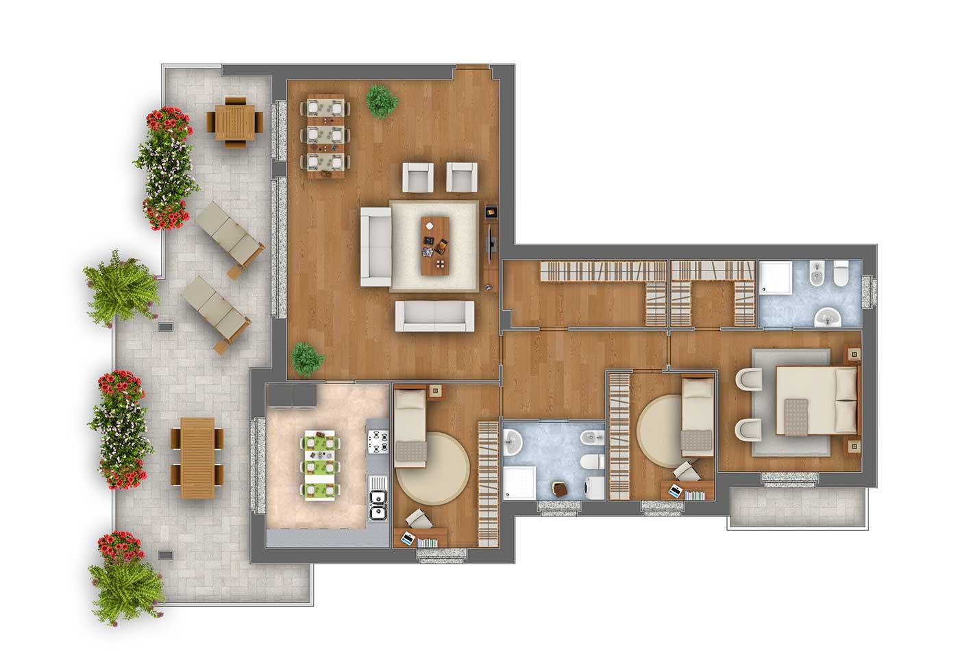 Margherita Attico appartamento 10