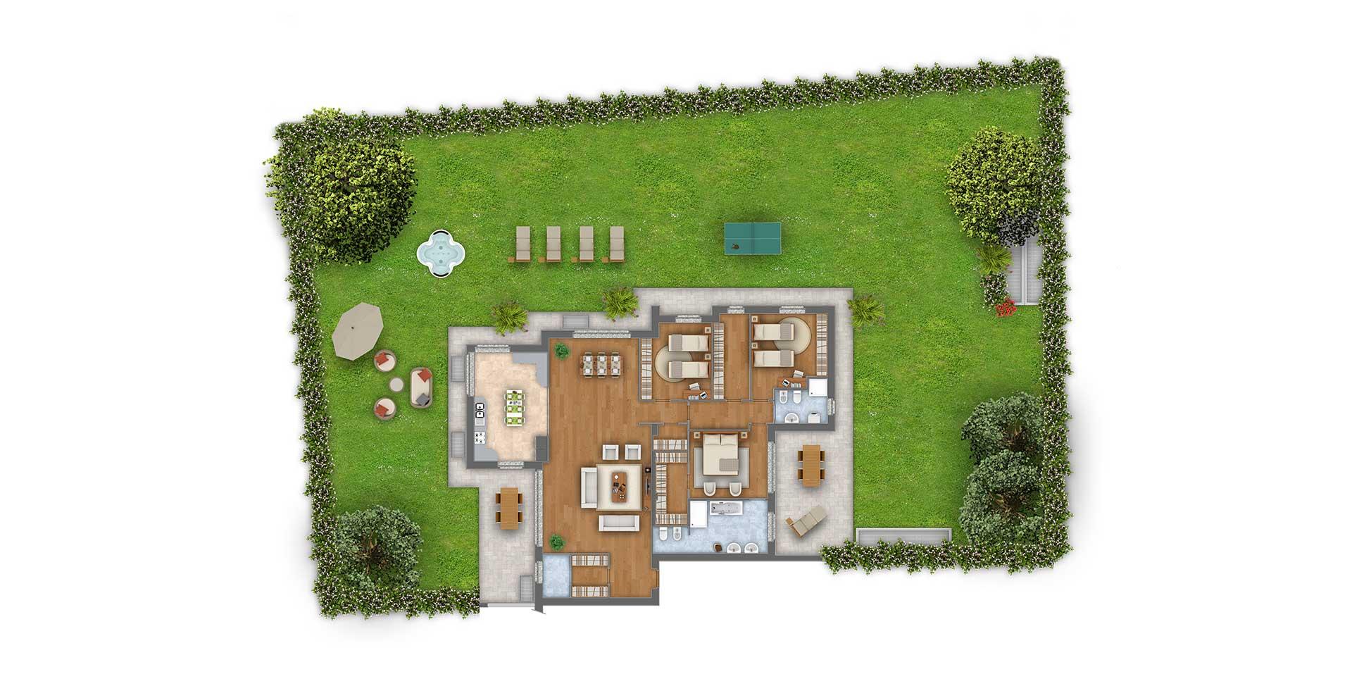 Margherita cinque locali appartamento 3