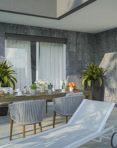 Quadrilocale appartamento residenza Viola Magnago