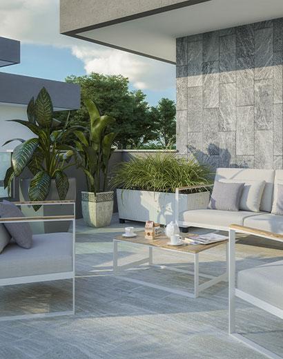 Trilocale appartamento residenza Viola Magnago